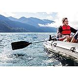 Intex Bootzubehör Kayak-Paddel Set (Alu/Kunststoff), Schwarz, 122 cm / 2-teilig - 3