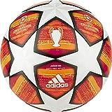 adidas Finale J350 - Pallone da Calcio da Uomo, Colore: Bianco/Rosso Scarlatto