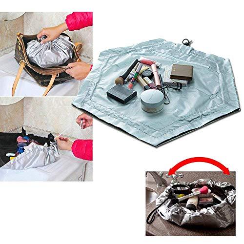 TickTocking 2-in-1 Kosmetiktasche/Arbeitsmatte, für Reisen, Organizer