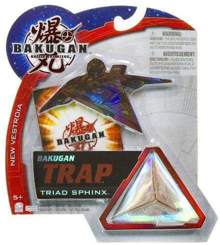 Triad Sphinx (Subterra) - Bakugan Trap New Vestroia Series -