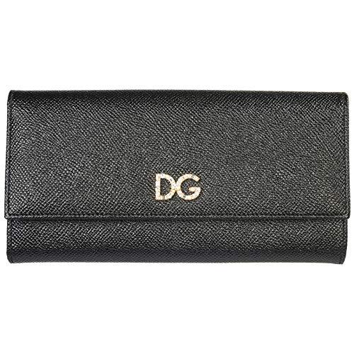 Dolce&Gabbana damen Continental Geldbörse nero