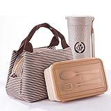 Die besten Die Geschenk-Verpackung Unternehmen Geburtstags-Geschenk für Männer - DDGOD Kinder Brotdose Mit lunchpaket Japanischer Stil,Portable Dauerhaft Bewertungen
