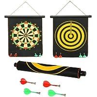 FunBlast Magnet Dart Board Game for Kids ,Double Sided Magnet Dart Board with Darts, Size- 12 Inches