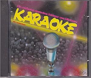 Karaoke - Die schönsten deutschen Schlager