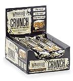 Warrior Crunch Bar Low Carb Protein Riegel Proteinbar Eiweiß Eiweißriegel 12x64g (White Choco Crisp - Weiße Schoko Crisp)