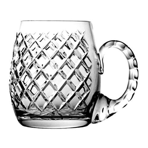 Boccale di birra crystaljulia 5684–5775, cristallo al piombo, trasparente