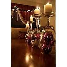 Centro de mesa con velas para cualquier ocasión