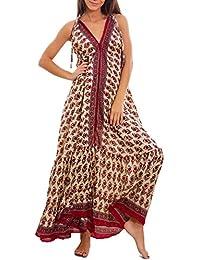 adc65164f4be Toocool Vestito donna lungo etnico Ibiza mini abito leggero boho gipsy chic  sexy IND-512
