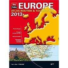 Europe Atlas Routier et Touristique 2013 - Echelle : 1/9 000 000
