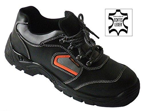 Arbeitsschuhe Sicherheitsschuhe Schuhe schwarz echt Leder LC052 S3 NEU (38 39 40 41 42 43 44 45 46 47) Gr. 43