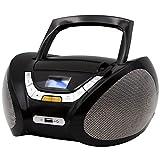 Lauson CP445 CD Portatile Lettore USB Radio Mp3 USB, Boombox Music System, AUX IN CD-Radio immagine