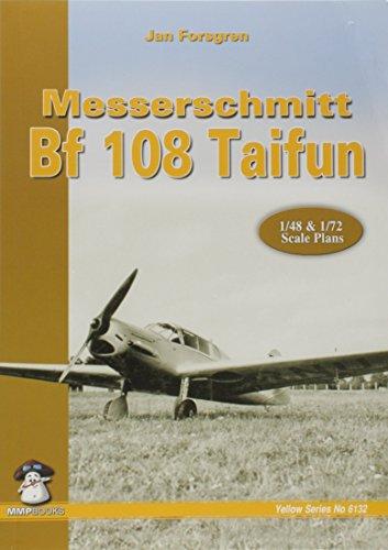 Messerschmitt Bf 108 Taifun (Yellow) por Jan Forsgren