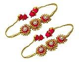 BLENT Traditional Pink Gota Jewellery Ba...