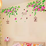 Decals Design 'Hibiscus Flowers' Wall St...