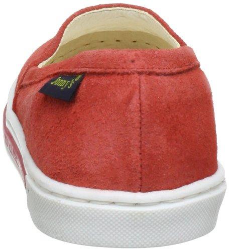 Jonny'S Kids 7356 Sk, Chaussons mixte enfant Rouge (Coral)