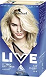 Schwarzkopf LIVE Intense Lightener Permanent 00B Max Blonde - Pack of 3