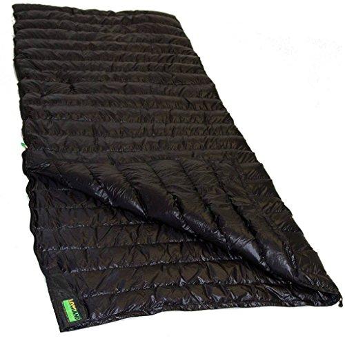 Lowland Outdoor│Daunen Deckenschlafsack │ Ultra Compact Blanket │210x80 cm │Nylon │8°C │ 445 g