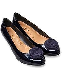 7e82fad4de5f8a Amazon.co.uk  Blue - Ballet Flats   Women s Shoes  Shoes   Bags