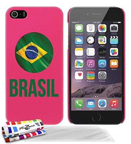 carcasa-rigida-ultra-slim-apple-iphone-5-de-exclusivo-motivo-balon-de-futbol-brasil-rosa-caramelo-de