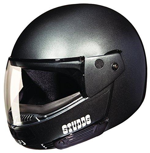 Studds Ninja Pastel Plain SUS_NPPFFH_GRYXL Full Face Helmet (Gun Grey, XL)