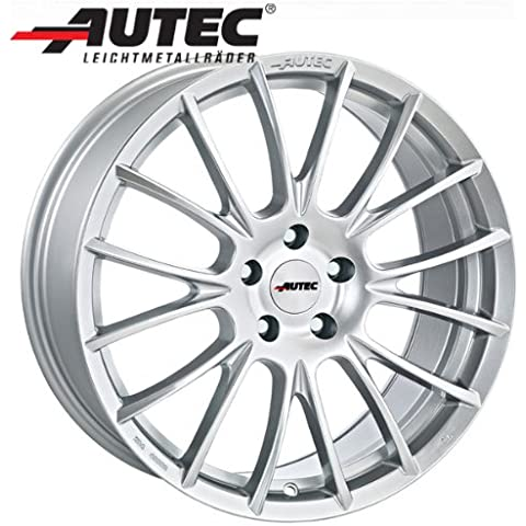 Aluminio Llanta autec verón Ford Fiesta ST JA8, jr8[Incluye MJ 2013] 7.5x 17Cristal Plata