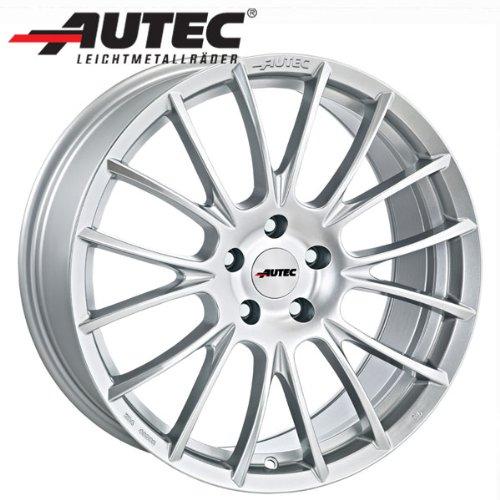 In alluminio cerchione AUTEC Veron Mini Mini John Cooper Works Mini R50/R52/R53FL dal MJ 20077.5x 17argento cristallo - 2007 Di Cristallo