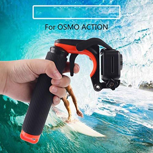 Webla Tauchselbstauslöser mit Schwimmstock für den Kameraverschluss für DJI Osmo Actionkamera, schwarz Lippenstift-video-kameras