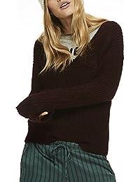 Scotch & Soda Damen Pullover Deep V-Neck Knit Top