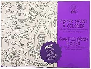 Poster à Colorier - Féérique MAGIC