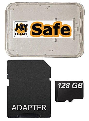 128 GB Micro SDXC Speicherkarte für Huawei Smartphones und Tablets mit SD Adapter und kQ-flash Box