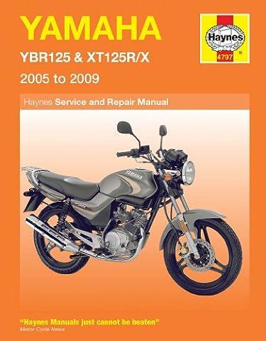 Yamaha YBR 125 XT 125 Repair Manual Haynes Service Manual