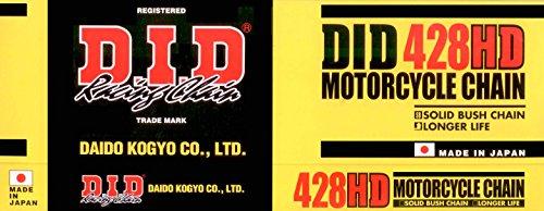 DID Kette 428HD für GILERA KK125 KZ Baujahr 86-89