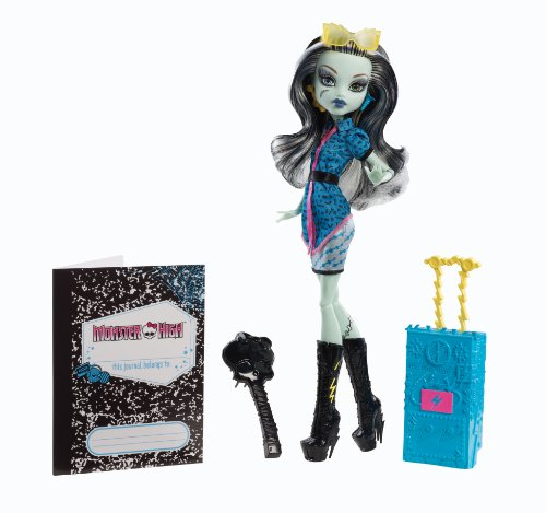 [UK-Import]Monster High Scaris Deluxe Travel Dolls Wave 2 - Frankie Stein