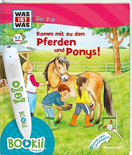 BOOKii® WAS IST WAS Junior Komm mit zu den Pferden und Ponys!: Über 650 Hörerlebnisse und interaktive Spiele! (BOOKii / Antippen, Spielen, Lernen)