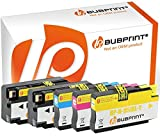 Bubprint 5 Druckerpatronen kompatibel für HP 950XL 951XL für Officejet Pro 251DW 276DW 8100 ePrinter 8600 Plus 8610 8615 8616 8620 8625 e-All-in-One