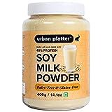 Urban Platter Soy Milk Powder, 400g [Vegan, Non-GMO & 49% Protein]