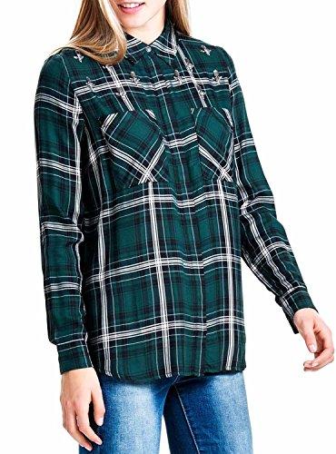 Camicia Donna Only 15122096/ONLSTONE Verde Autunno/Inverno Verde 38