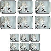 Jason Allium, 6 Placemats + 6 Coasters