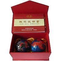 QTZS Chinesisches Traditionelles Fitness Ball Cloisonne Drache Phönix Gesundheit Ball Dekompression Handball 50mm... preisvergleich bei billige-tabletten.eu