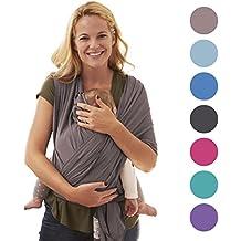 Portabebés paño de 5en 1babychamp Premium Baby Wrap Diseñado y fabricado en Alemania.