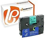 Bubprint Schriftband kompatibel für Brother TZE-721 TZE 721 für P-Touch 1280 2430PC 2730VP 3600 9500PC 9700PC D400VP D600VP H100LB H105 P700 P750W 9MM