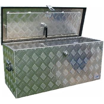 truckbox d160 werkzeugkasten deichselbox transportbox alubox alukoffer baumarkt. Black Bedroom Furniture Sets. Home Design Ideas