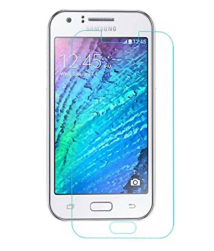 SNOOGG Samsung Galaxy J1 aceFull Body Tempered Glass Screen Protector [ Full Body Edge to Edge ] [ Anti Scratch ] [ 2.5D Round Edge] [HD View] - White  available at amazon for Rs.99
