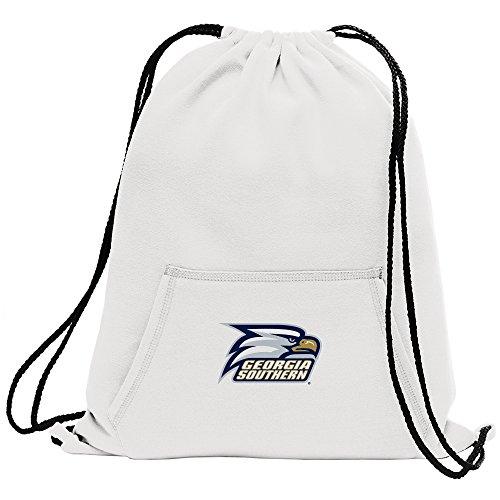 Cinch-pullover (Promoversity NCAA Unisex Sweatshirt Cinch Tasche, Unisex - Erwachsene, Sweatshirt Cinch Bag, weiß, 17.75