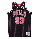 Mitchell & Ness Swingman Jersey Chicago Bulls Scotty Pippen 33 Black/Red L