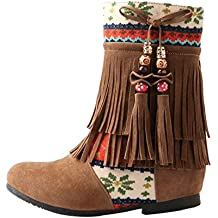 Suchergebnis auf für: Fransen Stiefel braun, Schuhe