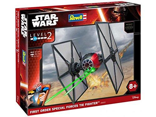 (Revell 06693 Modellbausatz Star Wars Special Forces TIE Fighter im Maßstab 1:35, Level 2, originalgetreue Nachbildung mit vielen Details, Steckmechanismus, mit vorbemalten und vordekorierten Teilen)