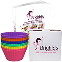 Brighid's Kitchen Reusable Silicone Baking Cups / Muffin Cups with