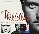 Phil Collins: The Platinum Collection: Face Value / Both Sides / Testify (Audio CD)