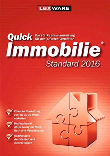 Produktbild Lexware QuickImmobilie Standard 2016 (Download)